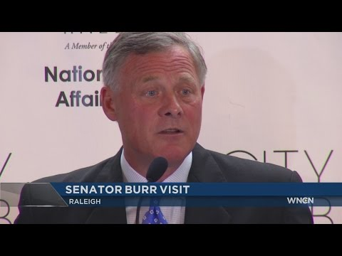 Sen. Burr praises Trump, questions US foreign policy in Raleigh talk