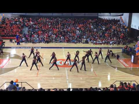Whitney Young Guys and Dolls - Homecoming Pep Rally 2016