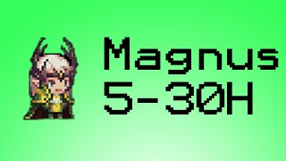 Crusaders Quest - Tundra 5-30 Hard - Magnus | Himiko | Yeo