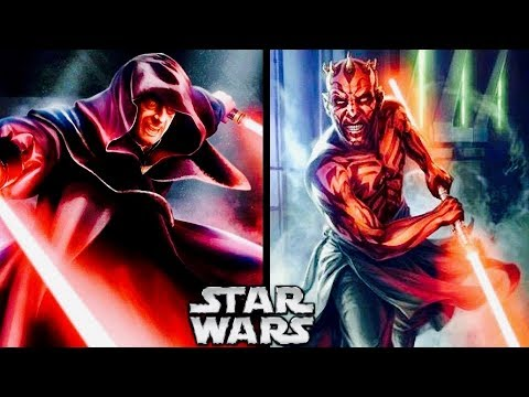 How Darth Maul Tried to KILL Darth Sidious Before The Phantom Menace! (Legends)