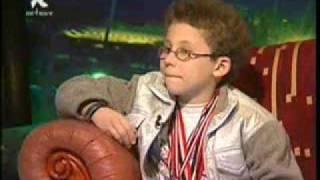 أذكى طفل في العالم(عربي الجنسية)مصري