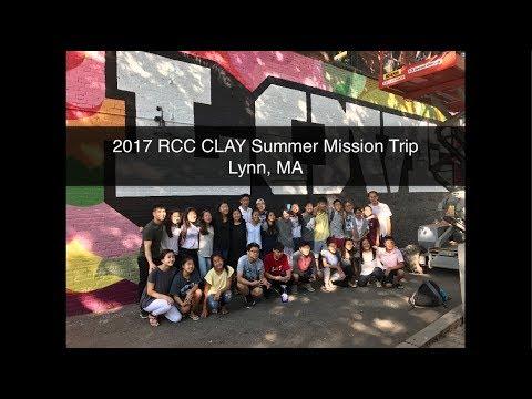 2017 RCC CLAY Mission Trip: Lynn, MA