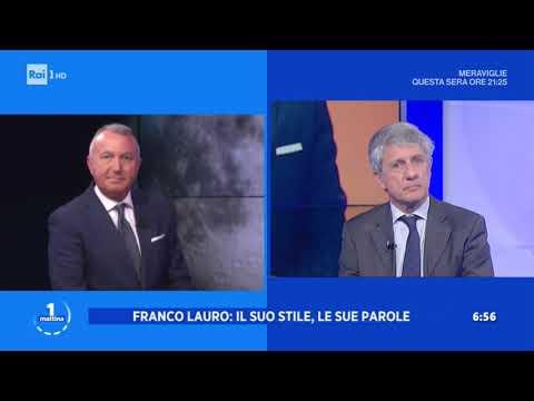 Addio a Franco Lauro - Unomattina 15/04/2020