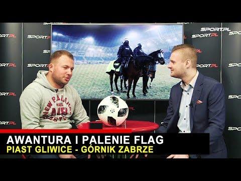 Kibole Górnika Zabrze spalili flagę Piasta ! - Dogrywka