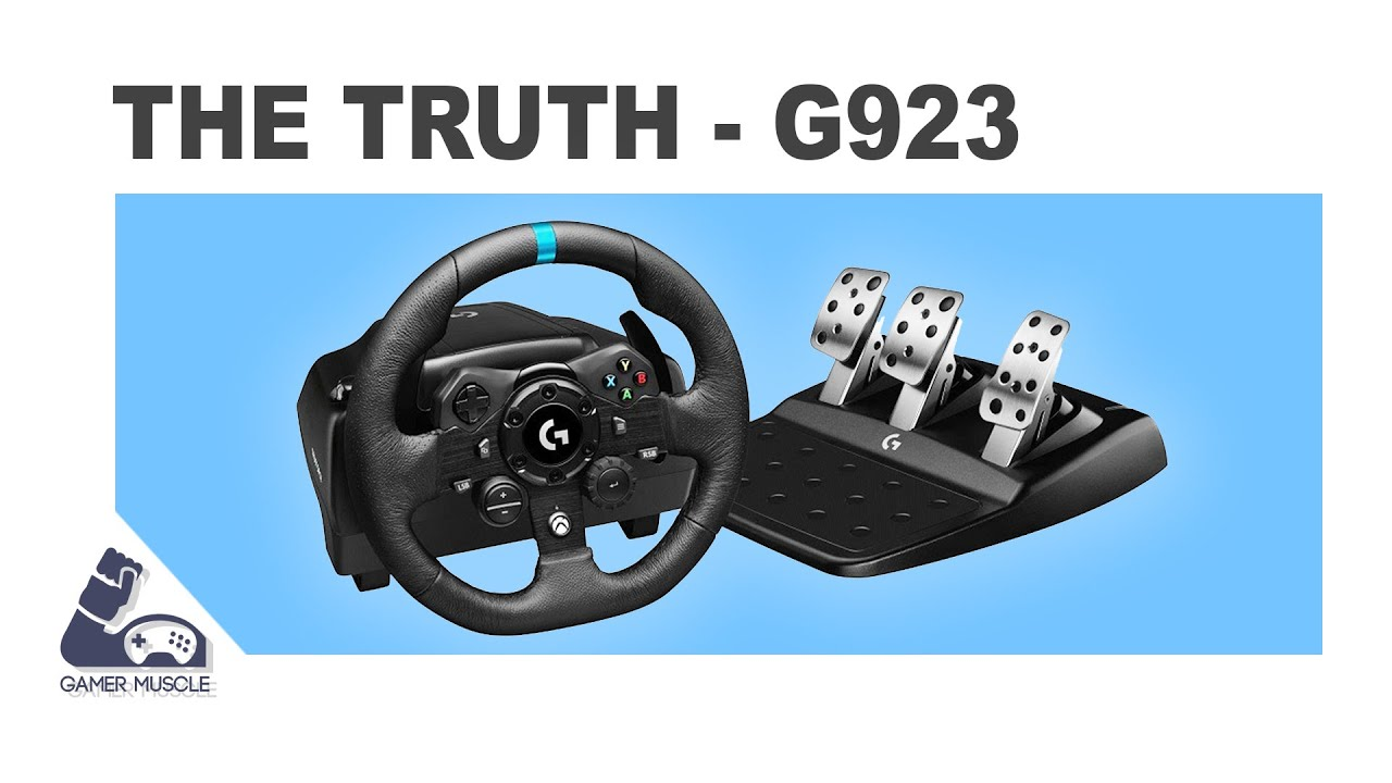 Rap Video: Truth about Logitech G923 Trueforce Wheel