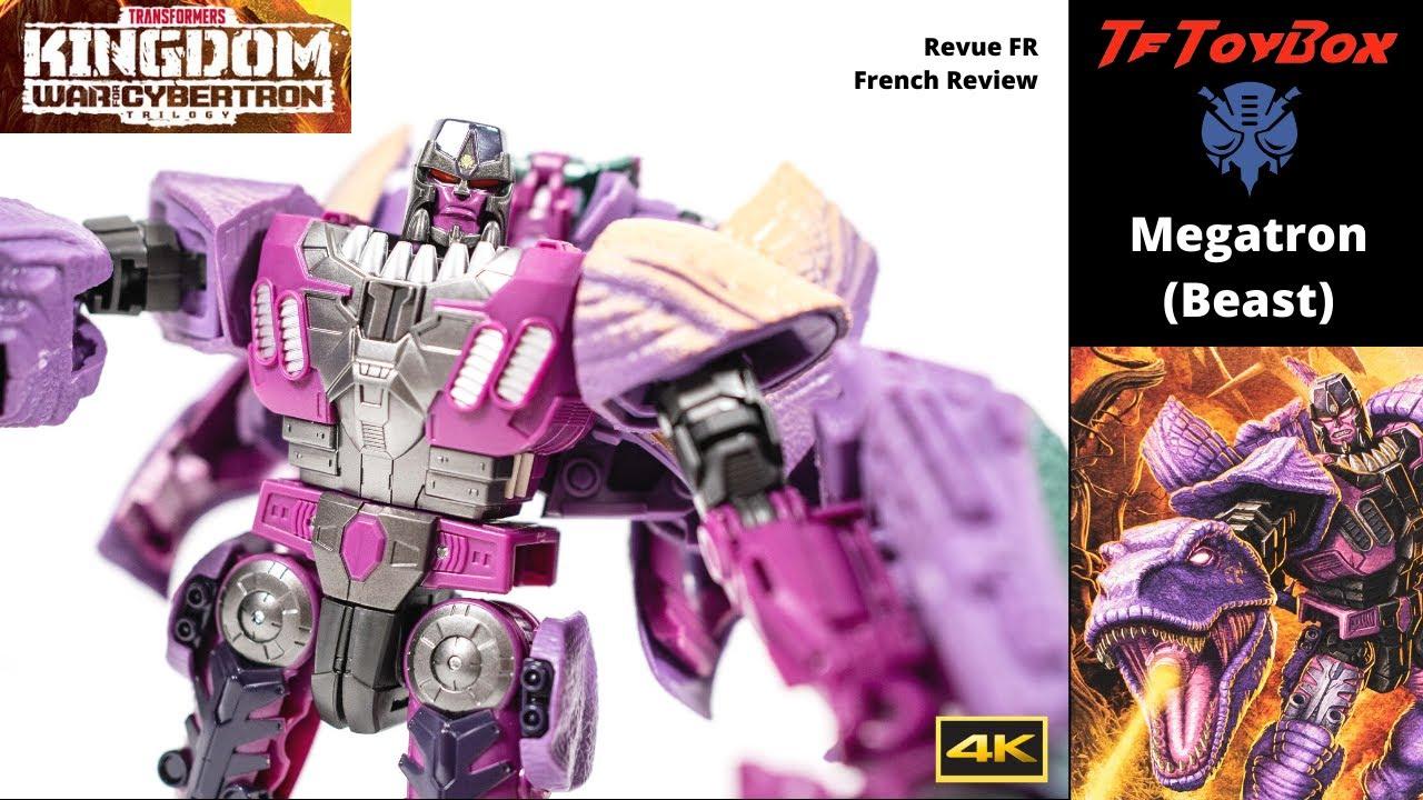 Transformers Kingdom Beast Megatron by TfToyBox