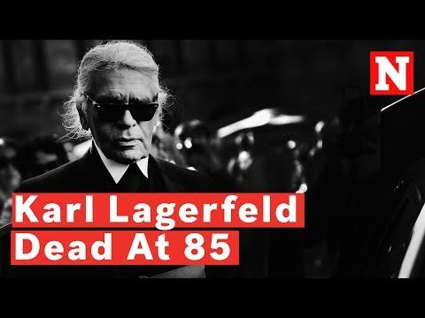 Iconic Fashion Designer, Karl Lagerfeld Dead