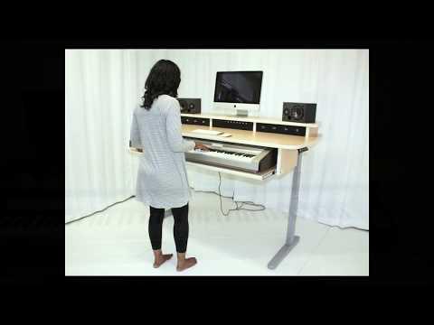 Summit Sit-Stand Studio Desk