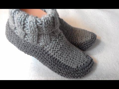 Как связать носки следки спицами очень красивые схемы и видео