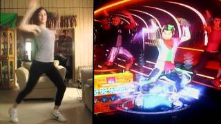 Dance Central 2: Dj Got us Falling in love (Hard-Gold Stars) Hi-Def
