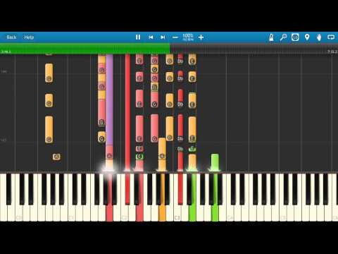 Oasis - Champagne Supernova Piano Tutorial - How to play - Synthesia Cover