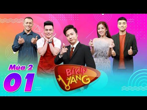 """Bí Kíp Vàng Mùa 2   Tập 1: ST Sơn Thạch """"điêu đứng"""" vì bị Dương Lâm, Puka """"xỉa xói"""" lần đầu làm MC"""