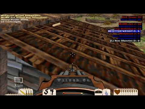 Outlaws Multiplayer - LucasArts Game - Teams at Gat Field |