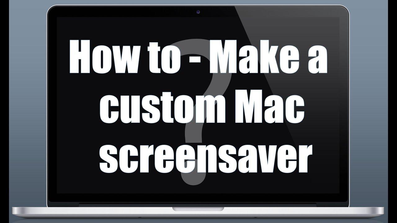 how to write a screensaver
