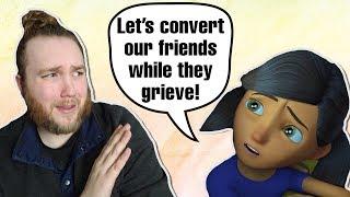 Estos CRINGEY los dibujos animados de los Testigos de Jehová son horribles!