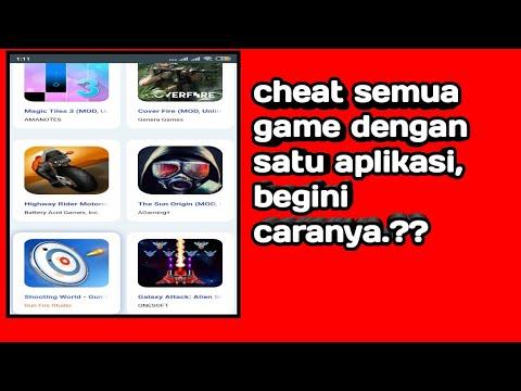 Cheat Semua Game Dengan Satu Aplikasi,  Begini Caranya.??