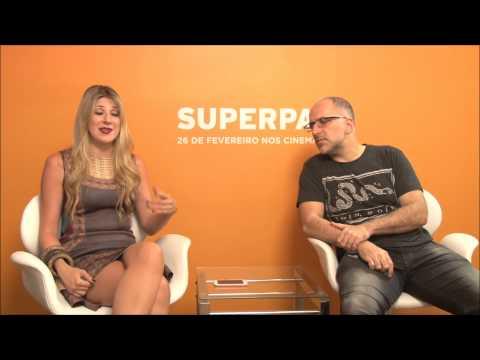 Superpai: elenco e diretor dão show de bom humor