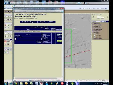 Downloading Elevation Data from USGS