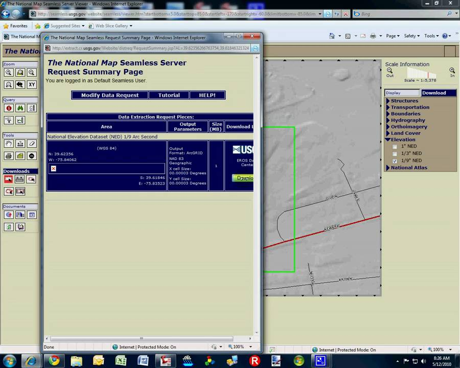 Downloading Elevation Data From USGS YouTube - Download dem data usgs