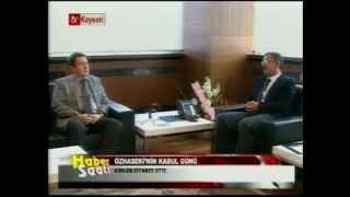AGÜ TV-AGÜ Rektörü Prof.Dr. İhsan Sabuncuoğlu  Mehmet Özhaseki'yi Ziyaret Etti