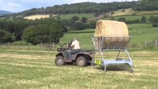 Advantage Feeders Tray Hay Feeder
