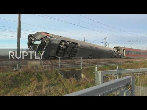 Italy: Emergency operations ongoing after deadly train derailment near Milan
