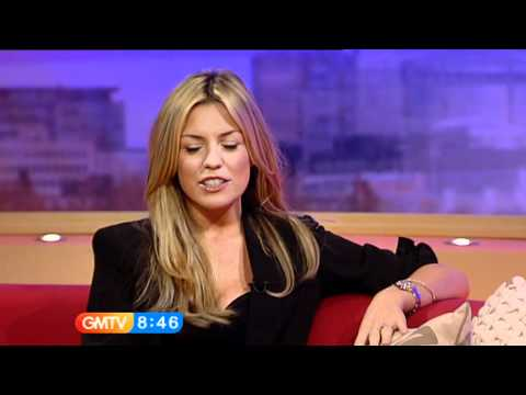 Abigail Clancy on GMTV - 8th April 2010