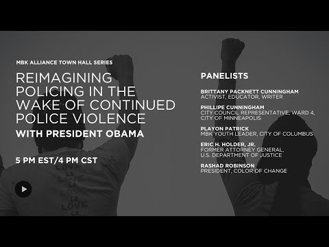 A conversation with President Obama: Reimagining Policing in the Wake of Continued Police Violence