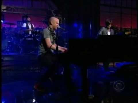 The Fray on Letterman mp3