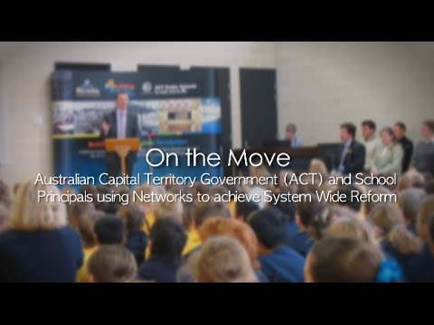 """On the Move"" - Australian Capital Territory Government (ACT)"