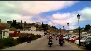 Ruta kedada motera Badajoz 2012 - Subida a Plaza Alta