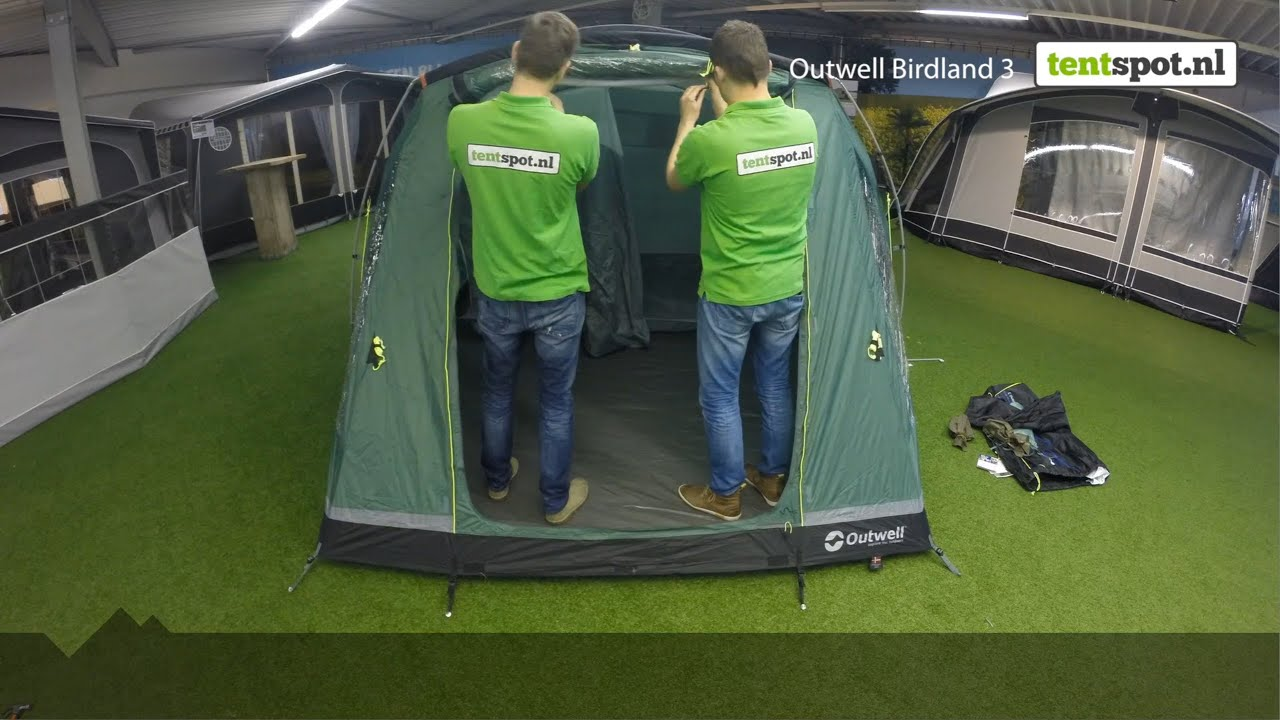 & Outwell Birdland 3 - Tentspot.nl - YouTube