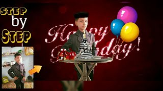 Birthday Photo Editing || Picsart Birthday Boy Manipulation Photo Editing || Photo Editing Tutorial