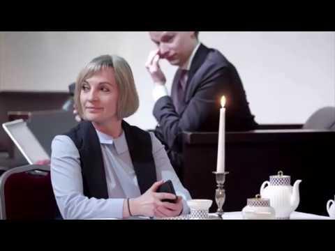 Наталья Кесеги и Евгений Кожухов. Тренинг по сервису и ресторанному этикету . Конкурс Horeca UP.