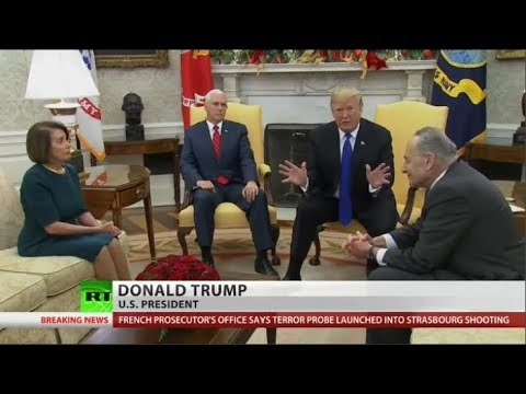 Will Trump shut down government over funding his Wall?
