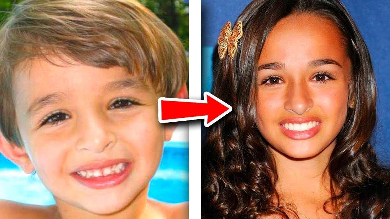 Transgender celebrity before and after