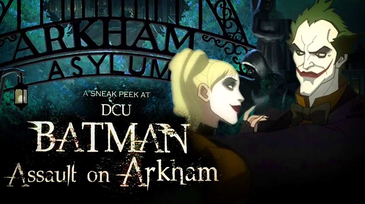 Batman Assault On Arkham Sneak Peek Youtube