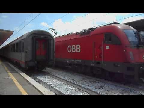 Bologna to Munich on EC 84