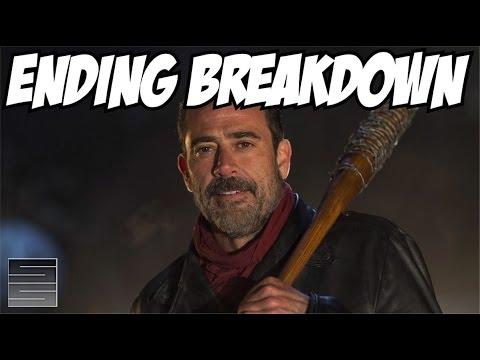 The Walking Dead Season 6 Finale - Negan Killed *Spoiler*!   Ending Breakdown