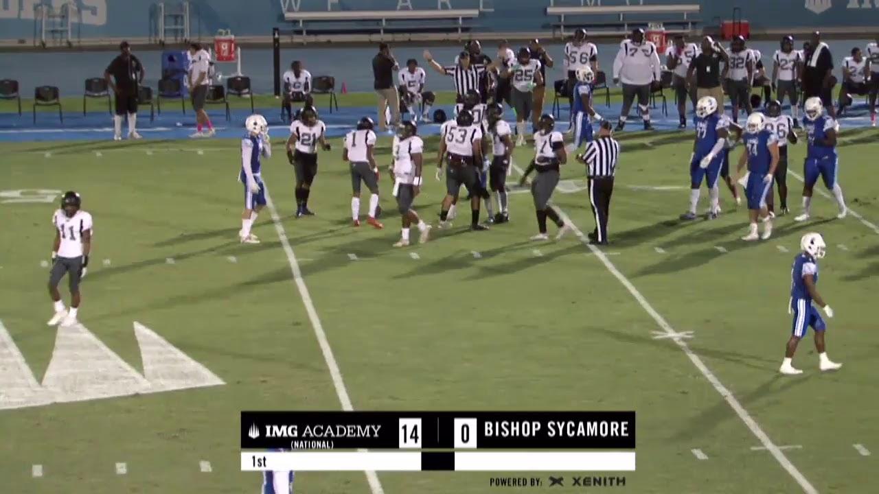 Is Bishop Sycamore a legit high school football program? IMG ...
