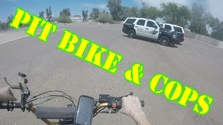 Pit Bike Adventure with cops /MMM#1/