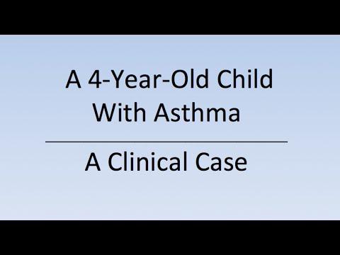 Case study of a child with asthma Paper