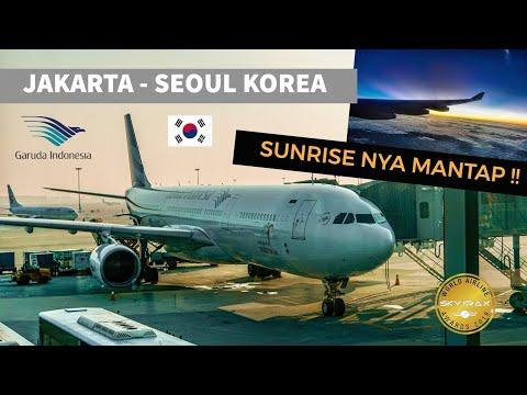 Sunrise | Garuda Indonesia GA878 | A330-300 | Jakarta - Seoul