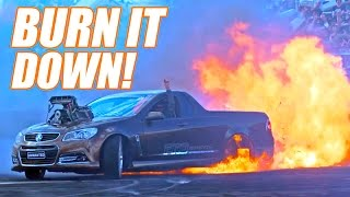 CARS ON FIRE? Where the Hell Are We?!?