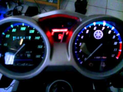 Glowing Speedometer Vixionmp4