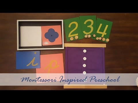 Montessori Inspired Preschool Curriculum