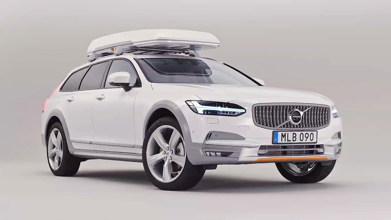 2018 Volvo V90 Cross Country Ocean Race Driving Interior Exterior