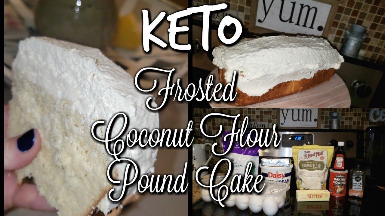 KETO CAKE! COCONUT FLOUR
