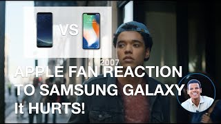 IPHONE USER REACTS TO SAMSUNG GALAXY 'GROWING UP' COMMERICIAL
