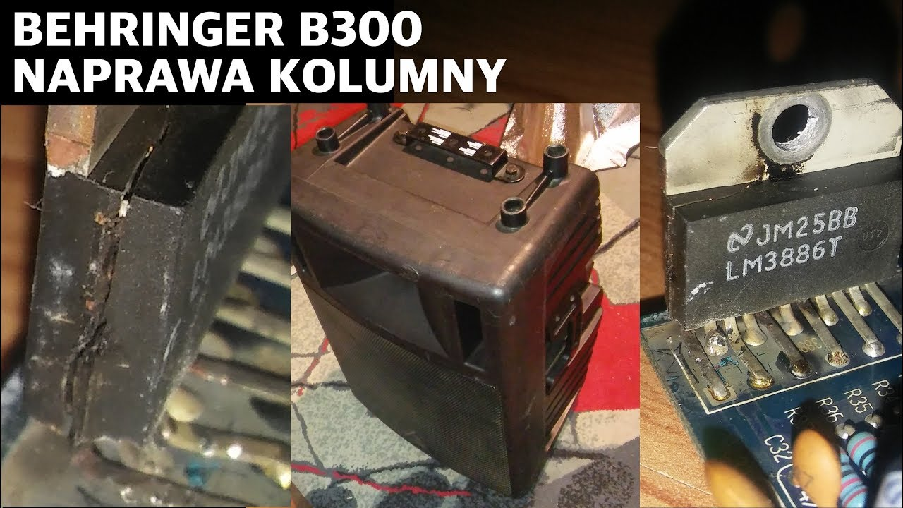 hight resolution of behringer b300 repair
